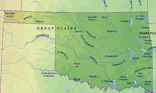 Mountains In Oklahoma Map.Oklahoma Archives Mineral Hq
